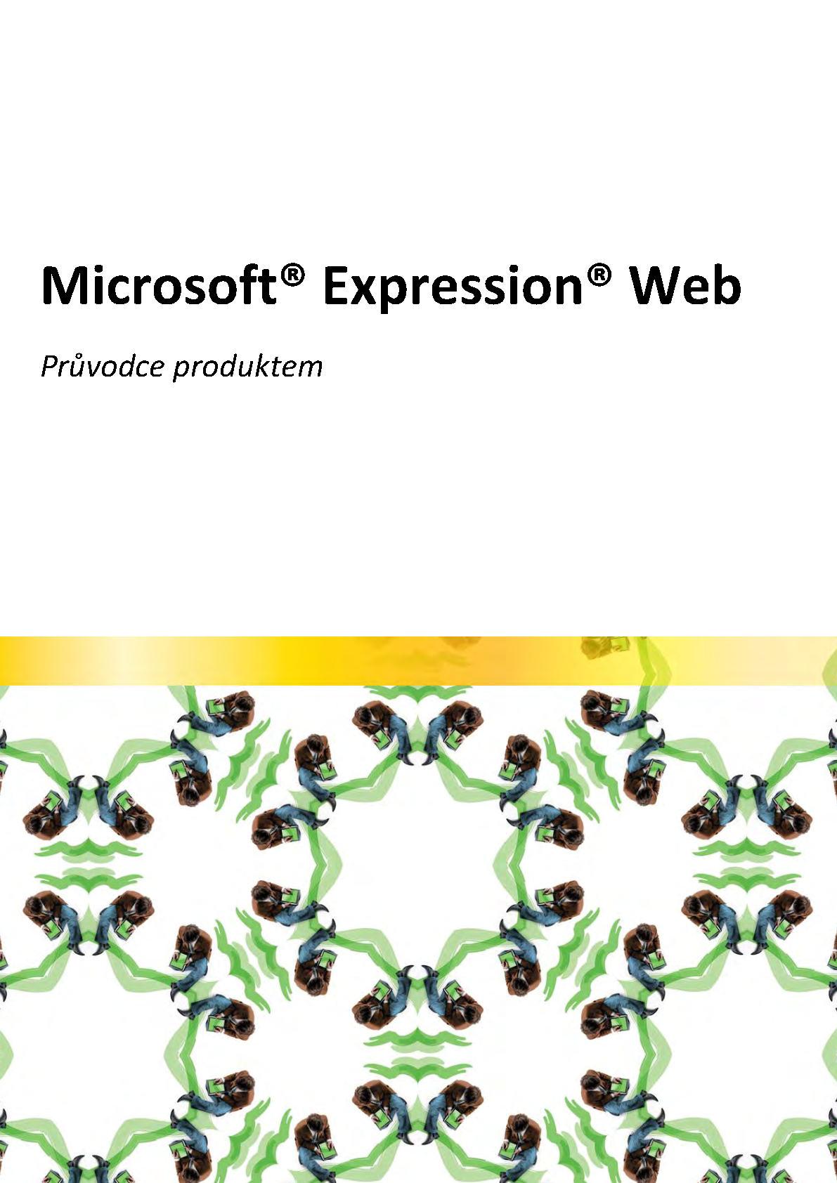Průvodce produktem Microsoft Expression Web