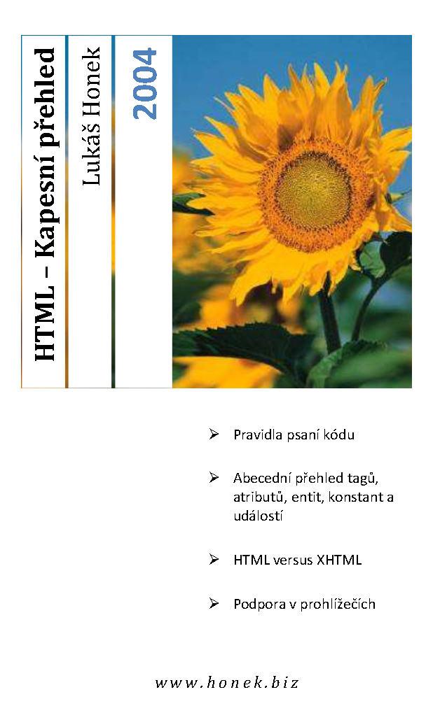 html kapesni prehled