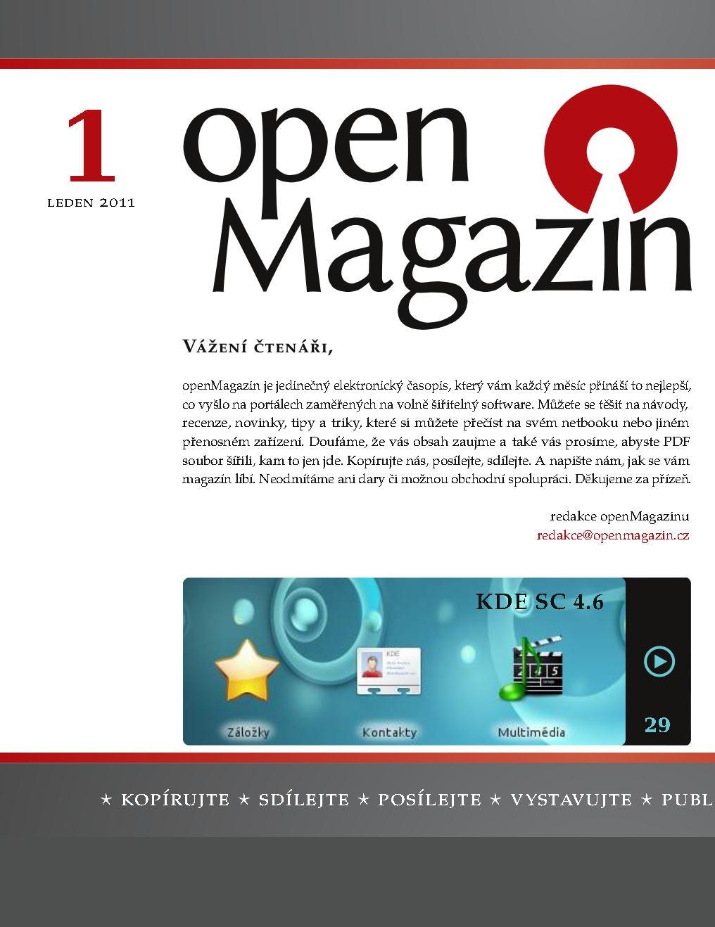 openMagazin 2011 01
