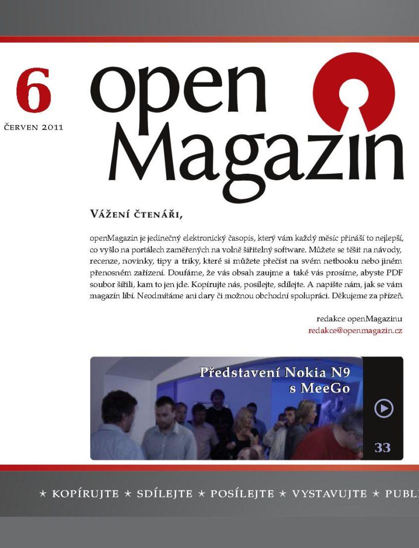 openMagazin 2011 06