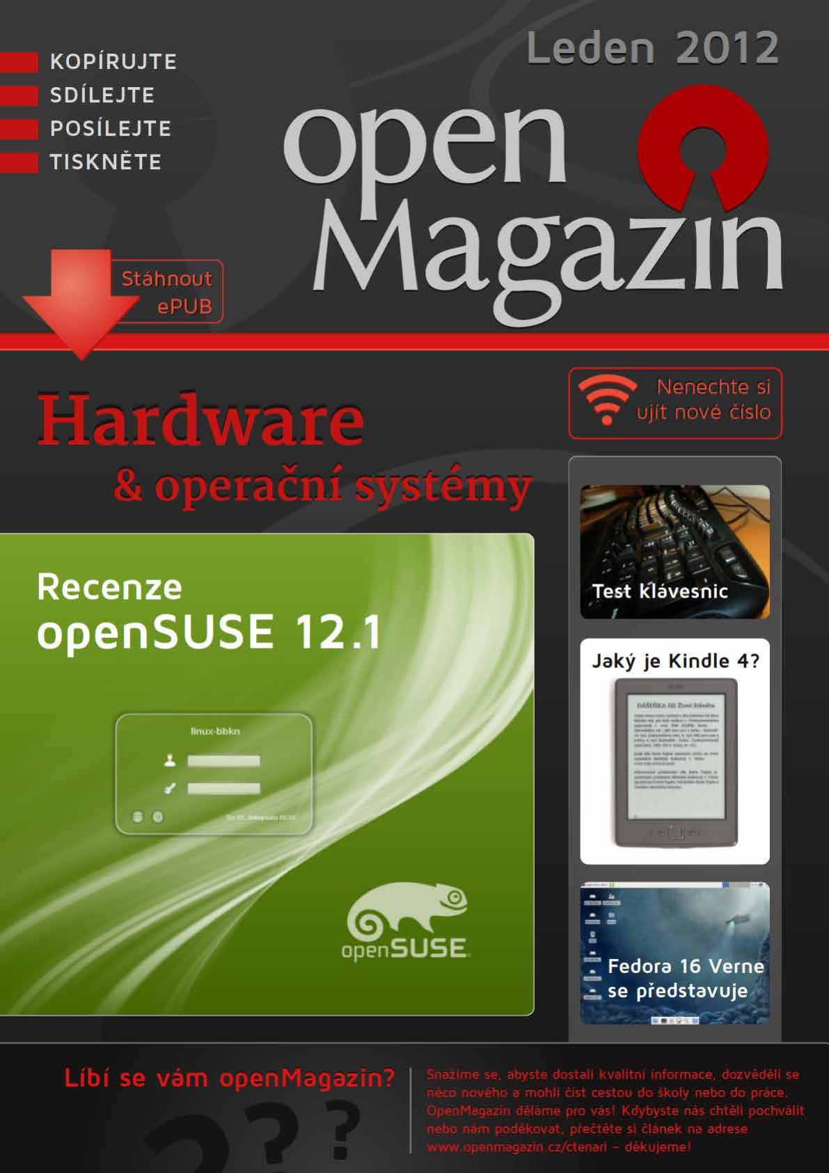 openMagazin 1/2012