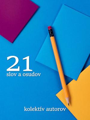 21 slov a osudov obal