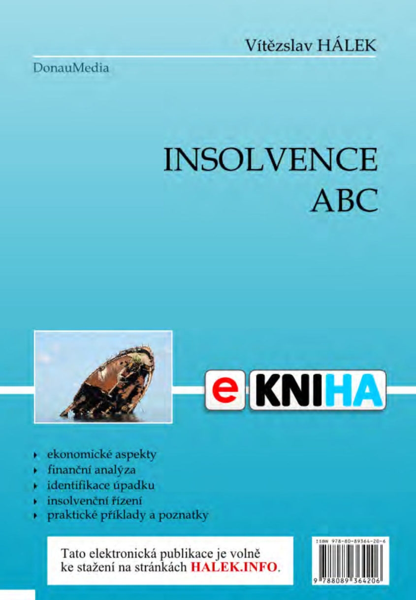 HALEK.INFO e kniha Insolvence abc