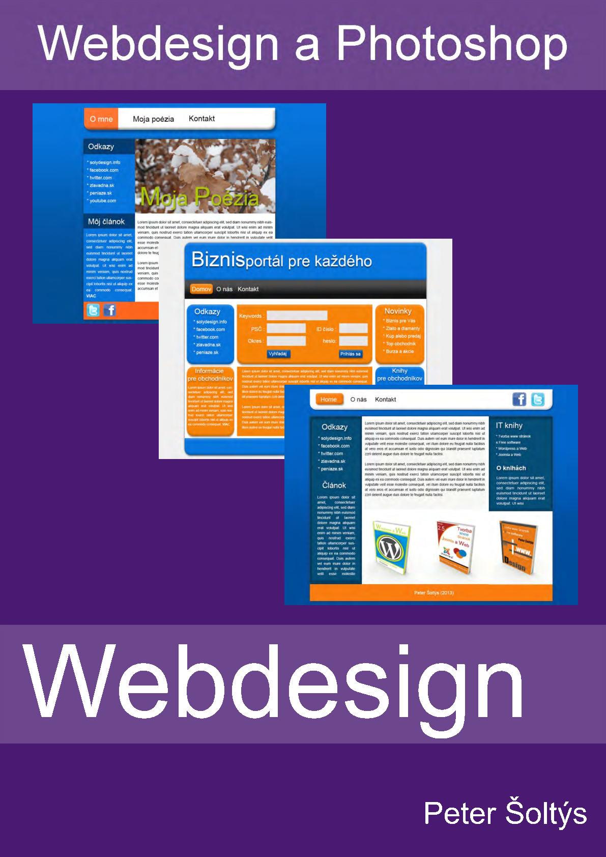 Webdesign a Photoshop