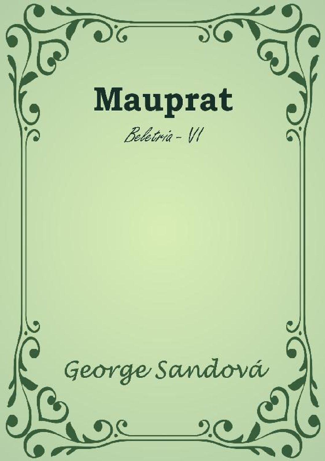 Mauprat 1 pdf