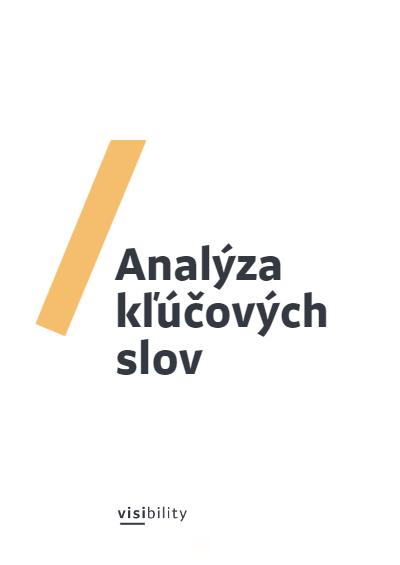 analyza klucovych slov