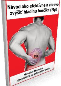 Nedostatok horčíka príčina bolesti chrbtice