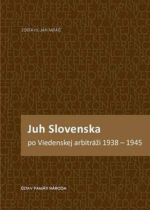 obalka zbornik juh slovenska po viedenskej arbitrazi velka