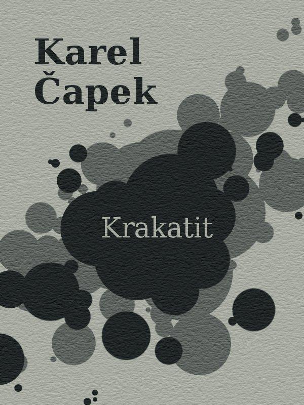 Karel Capek Krakatit