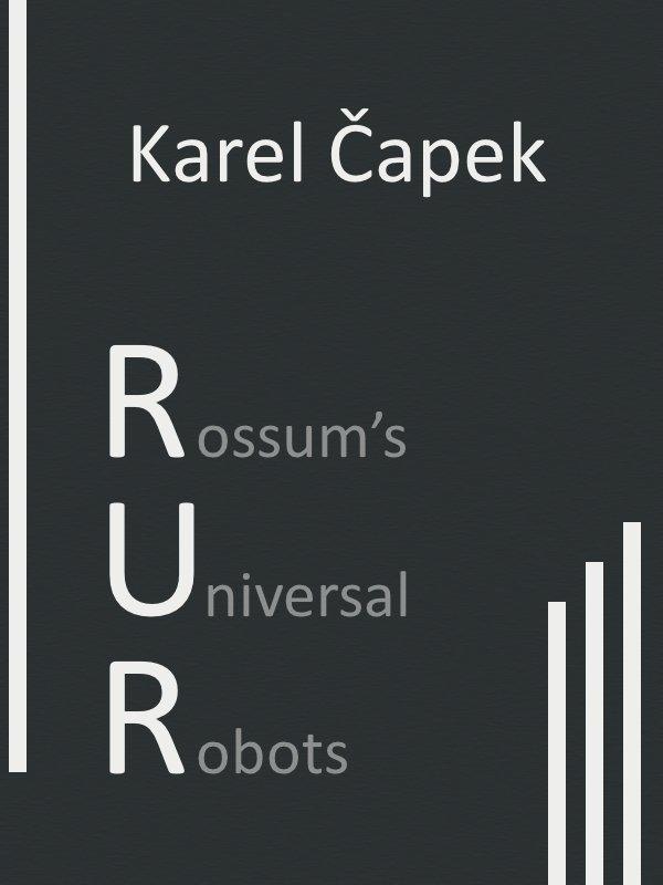 Karel Capek R U R