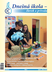 Dnešná škola – človek a príroda – január 2016