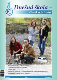 Dnešná škola – človek a príroda – máj 2017