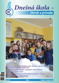 Dnešná škola – človek a príroda – november 2016