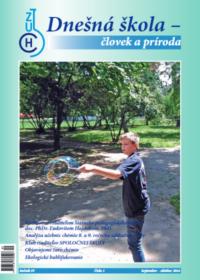 Dnešná škola – človek a príroda – september 2016