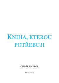 Kniha, kterou potřebuji