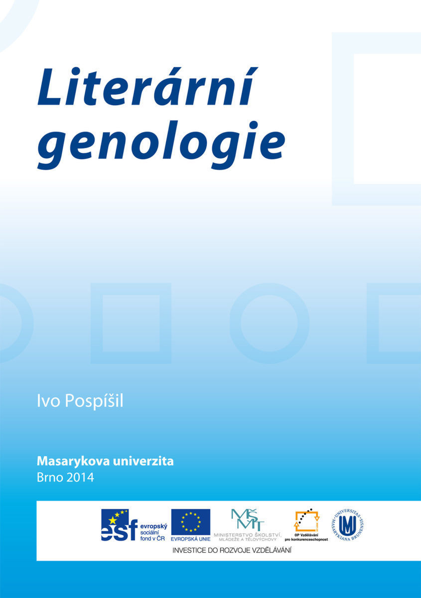 literarni genologie cover