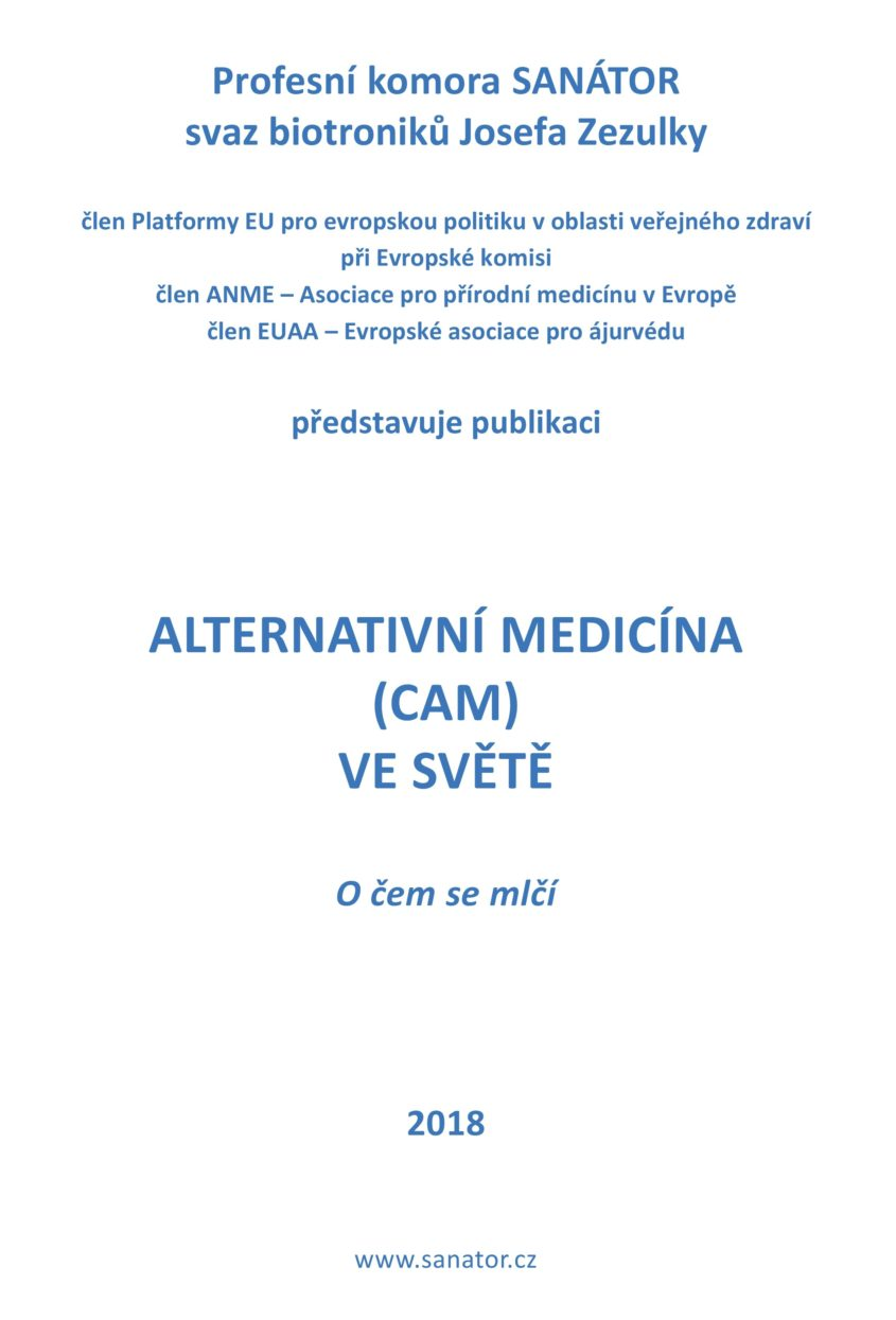 Alternativni medicina CAM ve svete