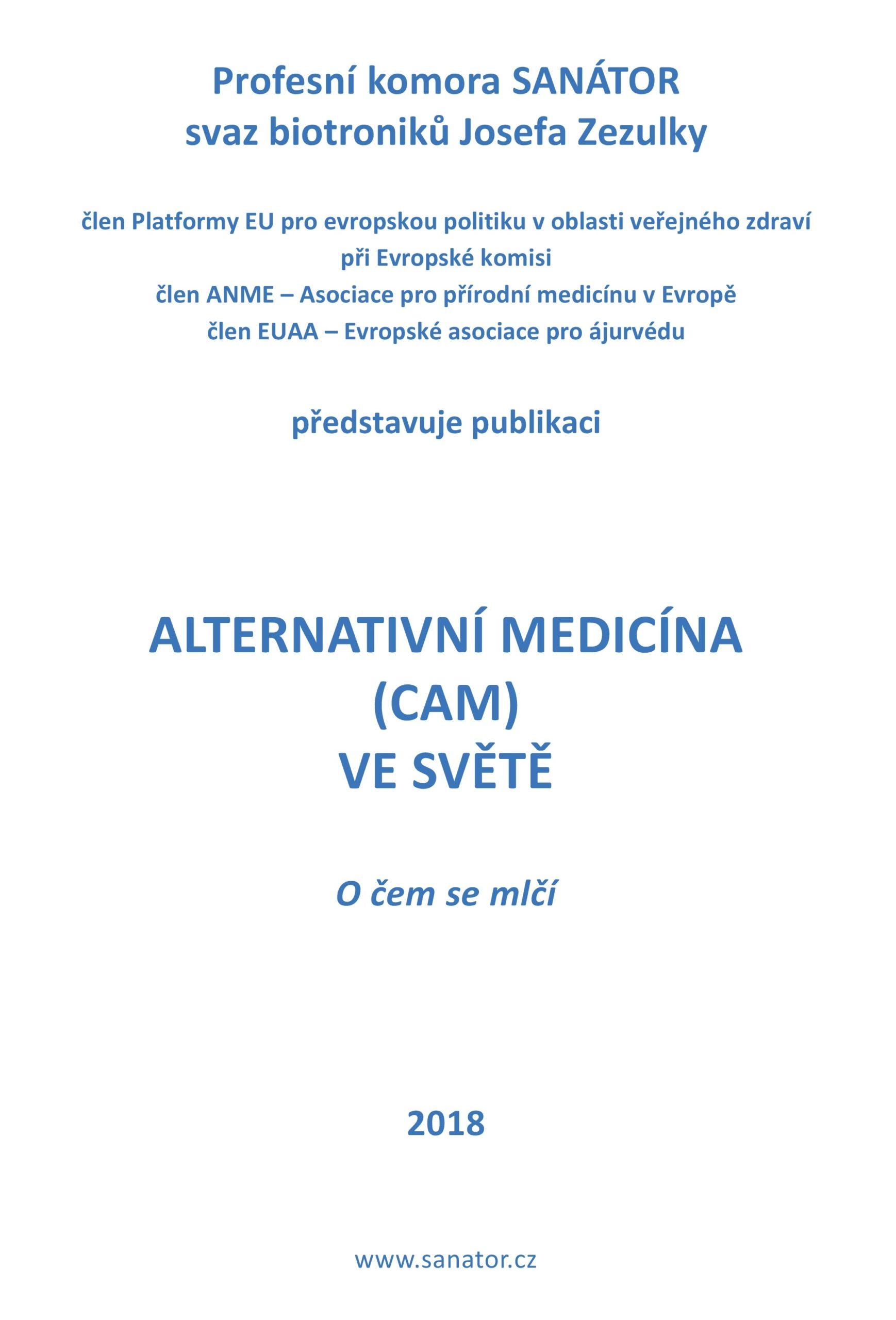 Alternativni medicina CAM ve svete scaled