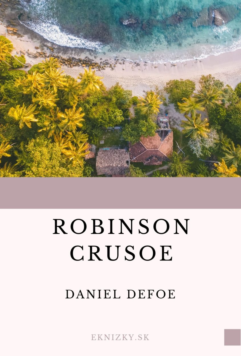 Robinson Crusoe obal