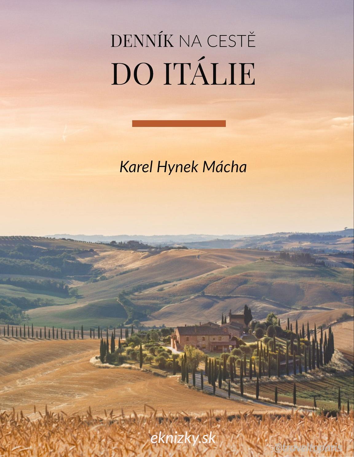 Denník na cestě do Itálie