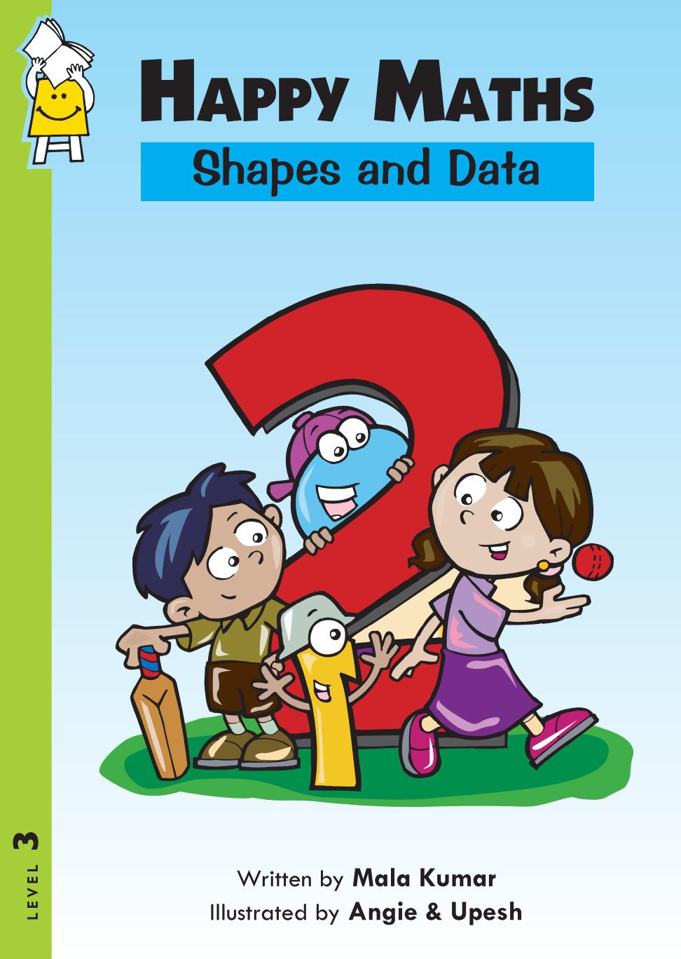 Happy Maths 2 – Shapes and Sata