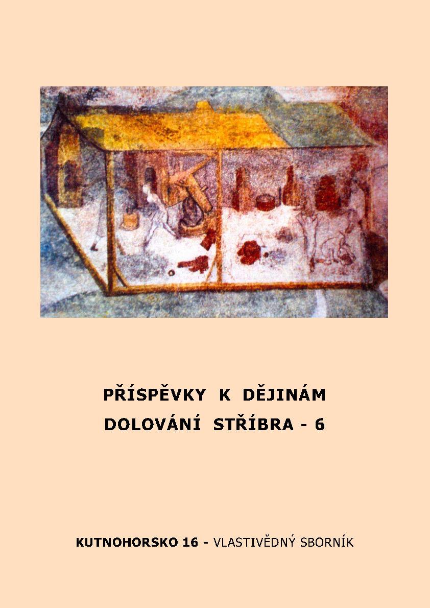 cover kutnohorsko vlastivedny sbornik 16 13