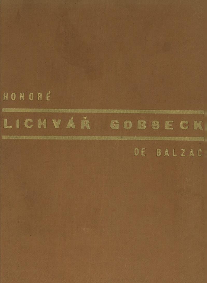 Lichvar gobseck