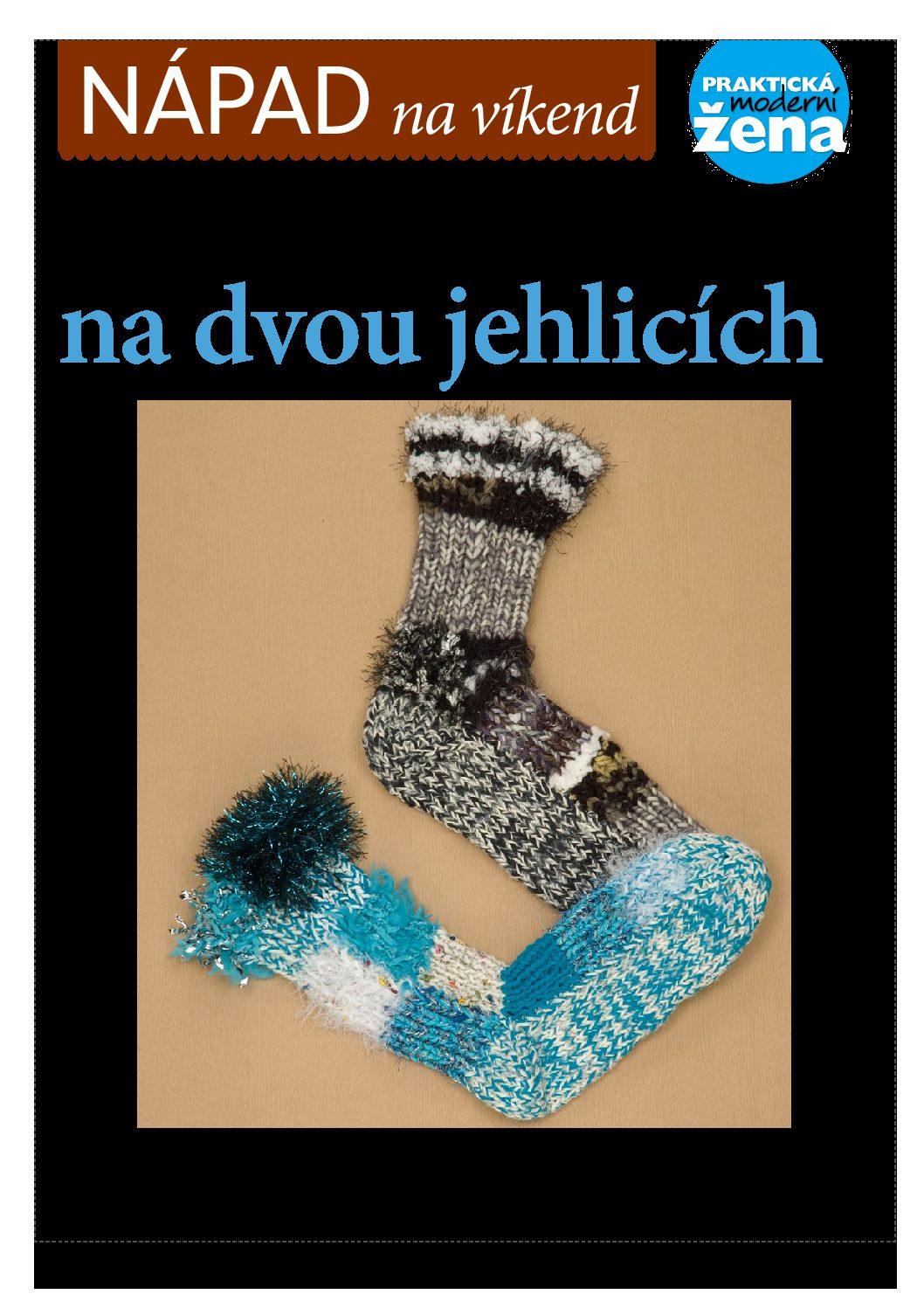 NAPAD na vikend Ponozky na dvou jehlicich pdf