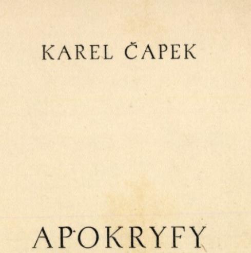 apokryfy