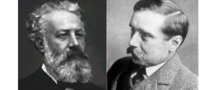 Rozdiel medzi Julesom Verneom a Herbertom Georgeom Wellsom