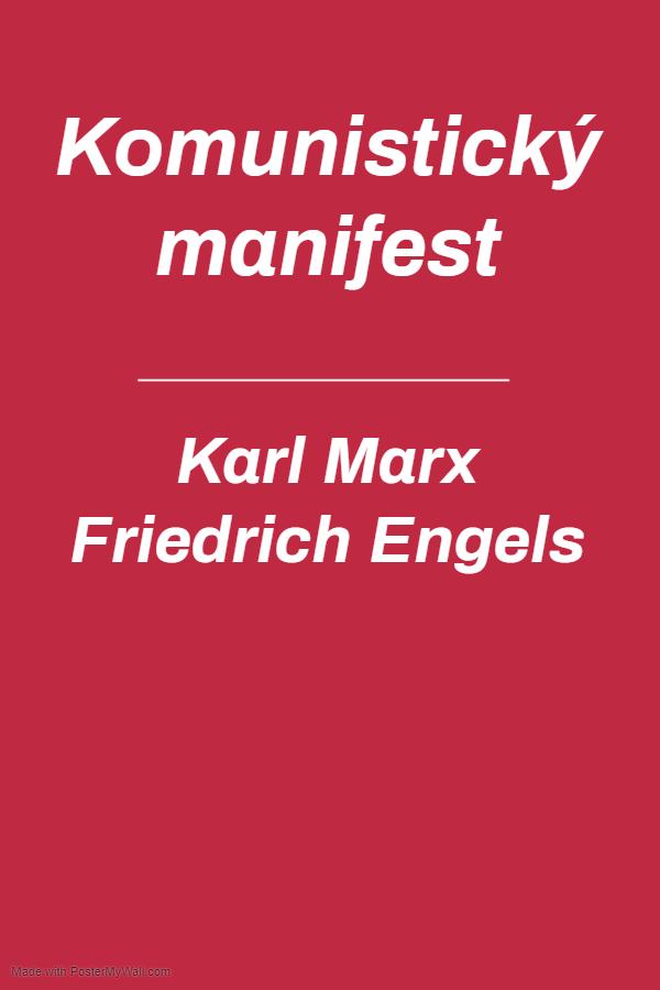 komunisticky manifest