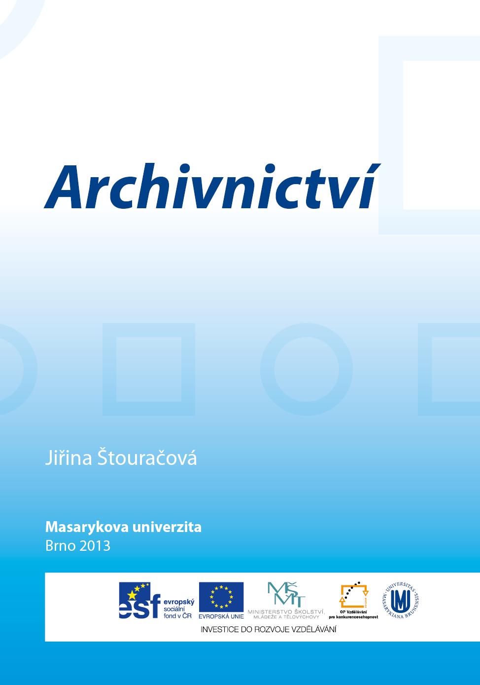Archivnictvi