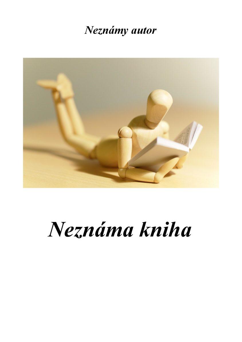 Obalka Kniha bez mena page 001
