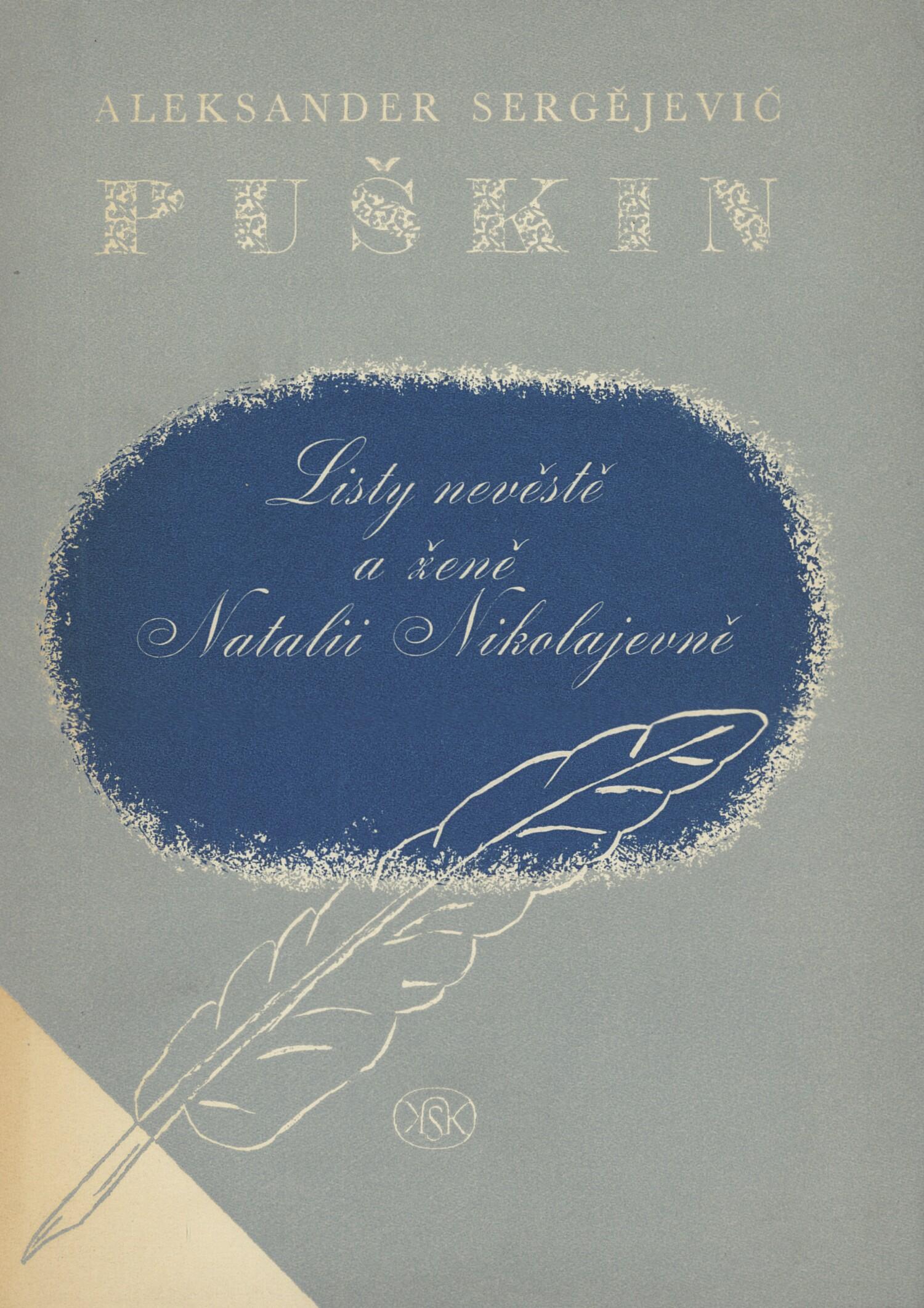 Listy nevěstě a ženě Natalii Nikolajevně