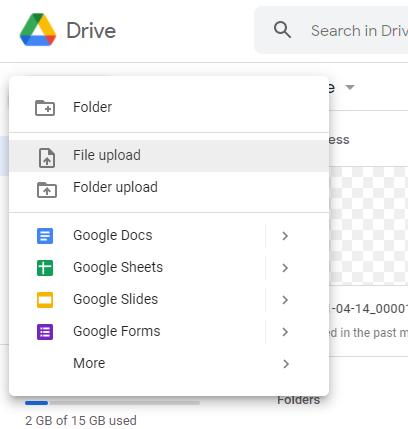 google drive nahrat subor eknizky