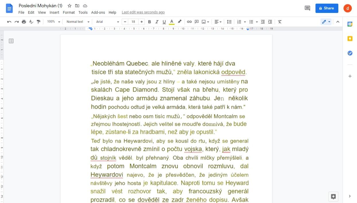 oskenovany text google drive eknizky
